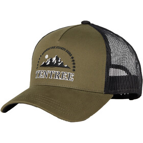 tentree Embroidery Altitude Cap, olive night green